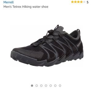 Merrell  5 NEW Men's Tetrex Hiking water shoe